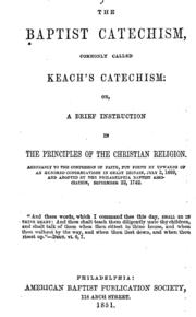 Comparison of the Westminster Shorter Catechism and Keach's Baptist Catechism