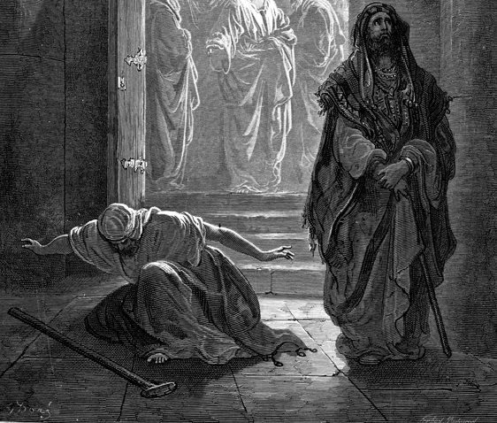 Dore Pharisee and Tax Collector
